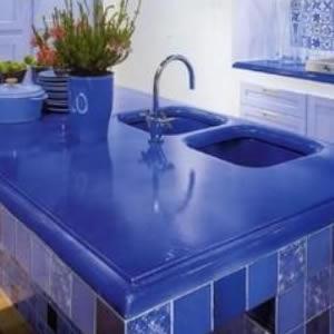 Blue Lava Stone Countertop