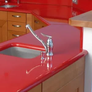 Red Lava Stone Countertop
