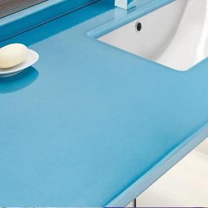 Light Blue Lava Stone Countertop